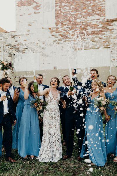 8 Creative Ways to Save on Your Wedding Bar - originally published on ivoryandink.com